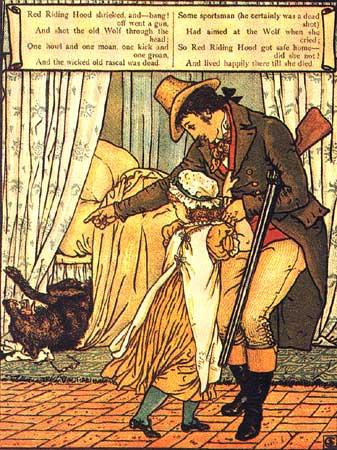 Caperucita Roja según los Hermanos Grimm. (6/6)