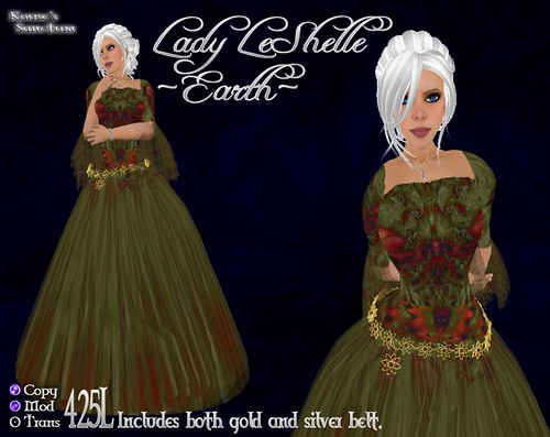 Lady LeShelle - Earth - Ad