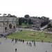 Blick aus dem Colosseo