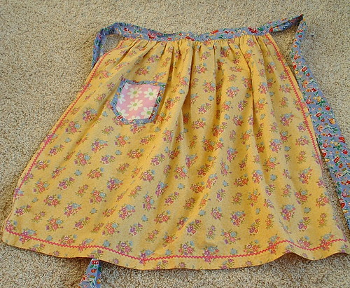 half apron made by aunt george