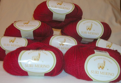 large mound of suri merino
