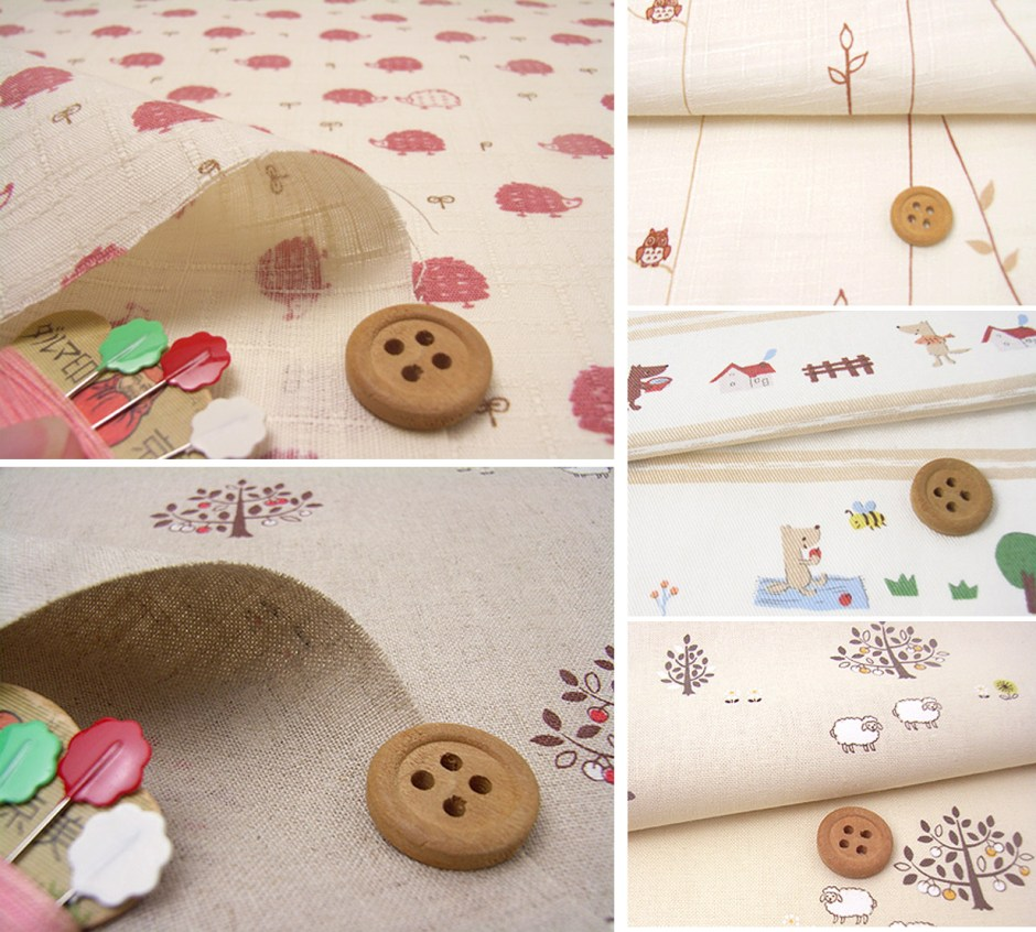 Fabric Tales {Japanese cuteness}