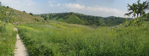 East Las Virgenes Trail Photomerge