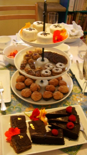 Spring Tea desserts