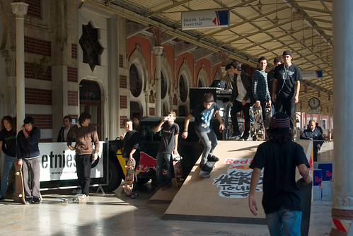 Local Hero was event of Red Bull in Sirkeci Railway Station.
