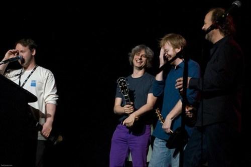 Phish Accepts the Lifetime Achievement Award