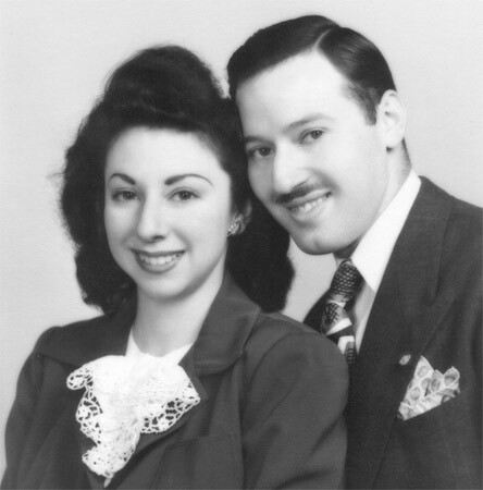 Millie and Seymour, c 1950
