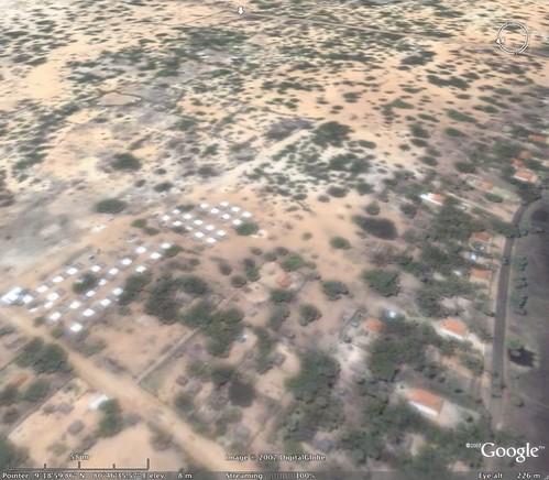 Settlements near Vellamullavaikkal LTTE base