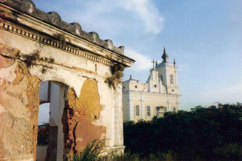 forte igreja santo antonio carmo