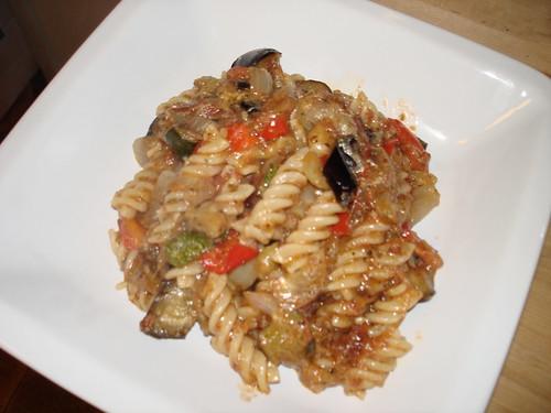 ratatouille with pasta