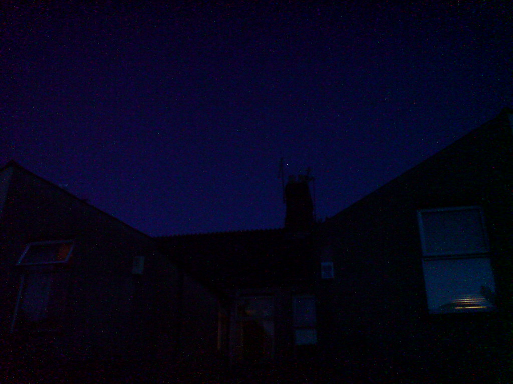ISS Over My House