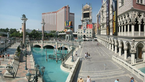 Venetian Hotel panorama