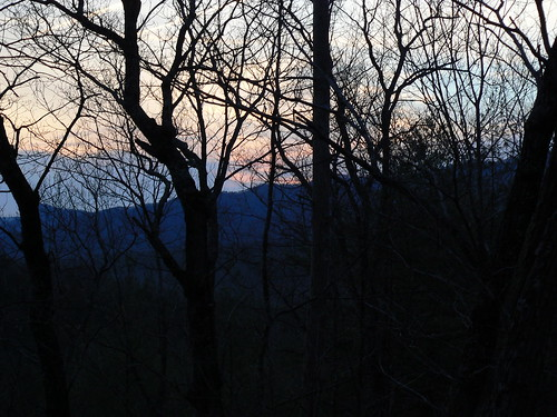 Sinking Creek Mountain - Dawn from the AT