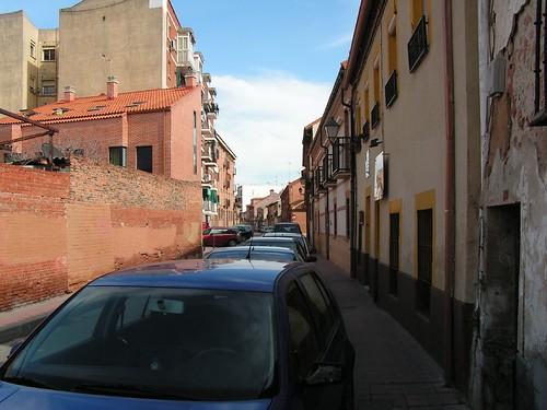 Calle Portilla en la actualidad