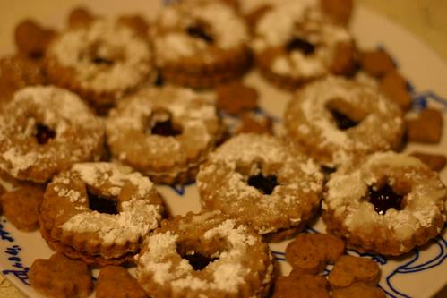 Linzer cookies!