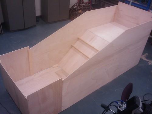 Sandpit construction 3