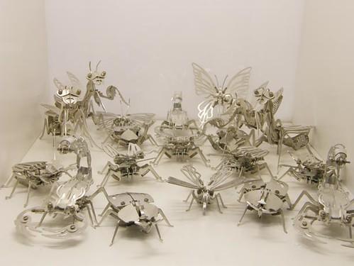 metal robot bugs