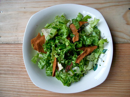 fattoush salad by secret tea party