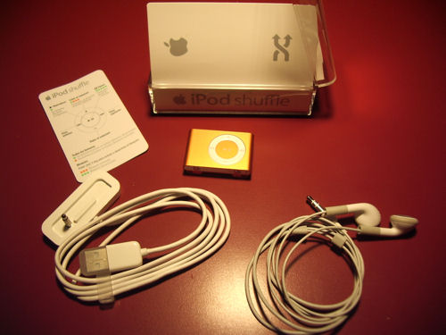 iPod Suffle caja