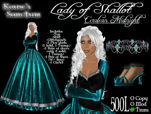 Lady of Shallot - Cerulean