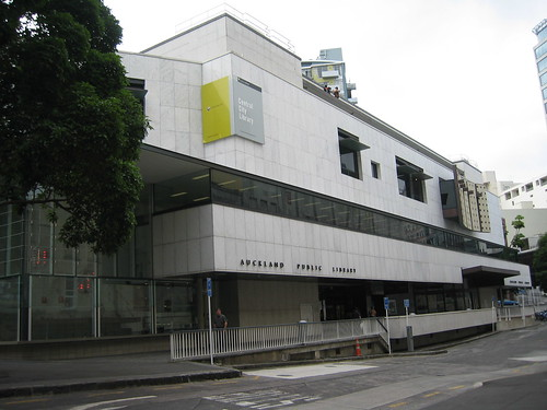 Auckland City Libraries' central city library