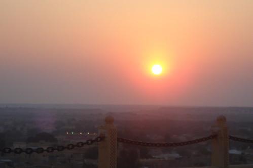 Hotel Narayan Niwas Palace1-16 夕陽