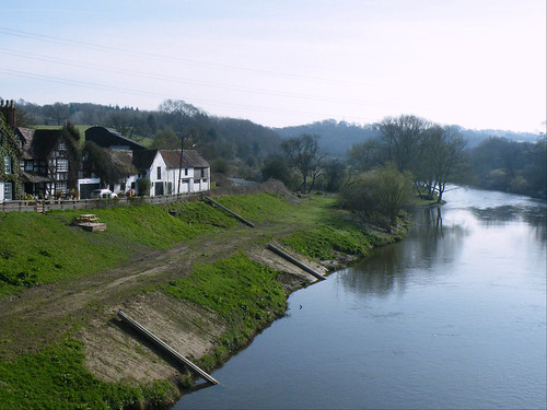 River Severn at Buildwas