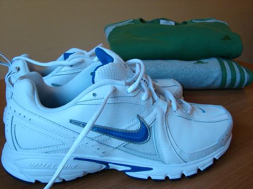 Zapatillas y Chandal