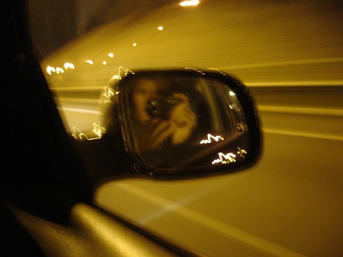 mi reflejo en el espejo