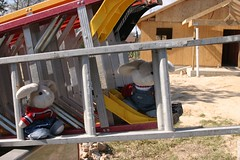Packing Up the Ladders at the Habitat House