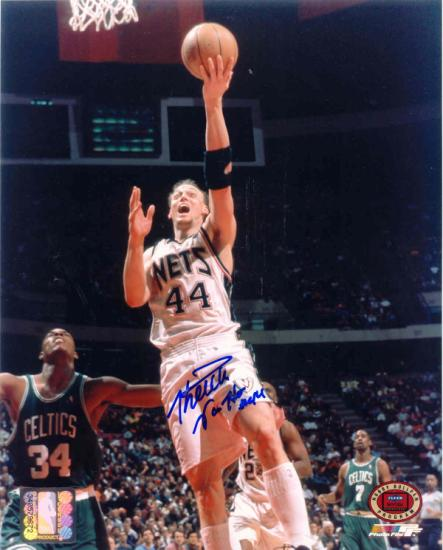Keith Van Horn with New Jersey