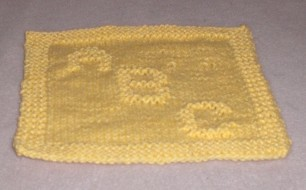 * Perfect for a dishcloth OR as a blanket square!