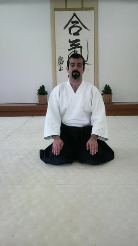 Pedram at Hombu dojo