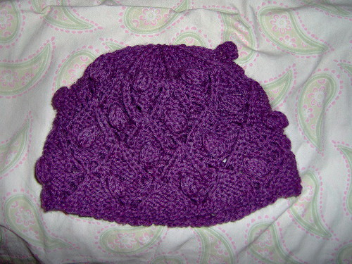 * Very cute hat!  In memory of the designers grandmother - how sweet!