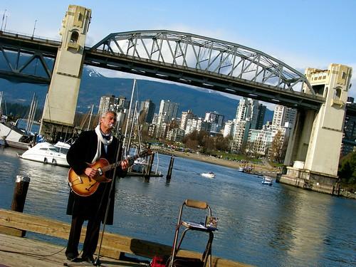 A very Vancouver scene