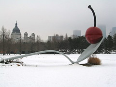 Playing The Spoon, Minneapolis, Minnesota, January 2008,photo © 2007 by QuoinMonkey. All rights reserved.