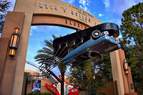 Rock & Roll Coaster Disneyworld
