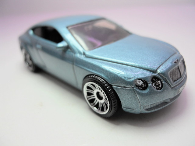 matchbox bentley continental GT (2)