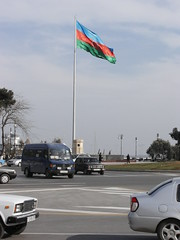 Giant Flag of Azerbaidjan