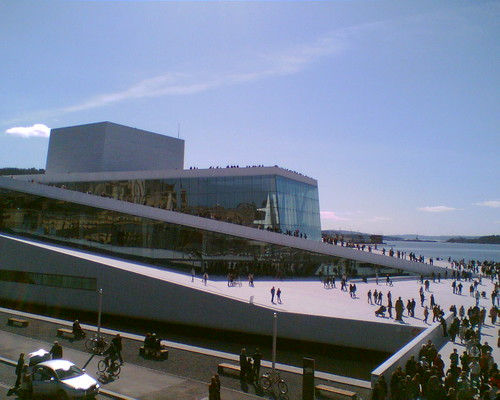 The New Norwegian Opera House