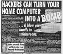 Computer Hackers can turn your Computer into a BOMB!
