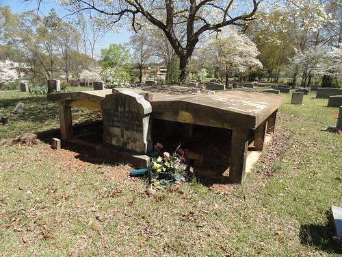 Graveshelters, Old Harmony Cemetery, Etowah County AL