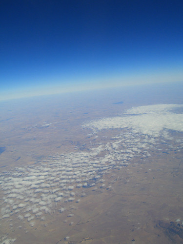 Over Southern Africa