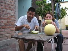 Le melon de San Juan, ca vous gagne!
