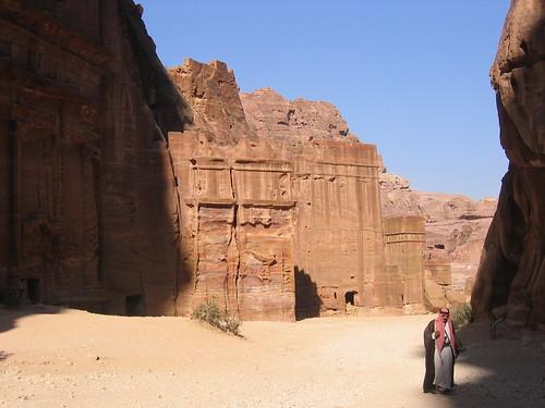 Man in Petra, Jordan