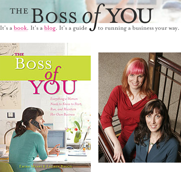 The Boss of You {book of the week}