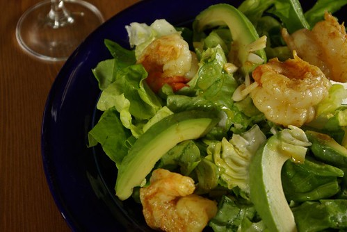 shrimp avocado salad