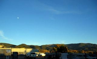 Taos moon rise