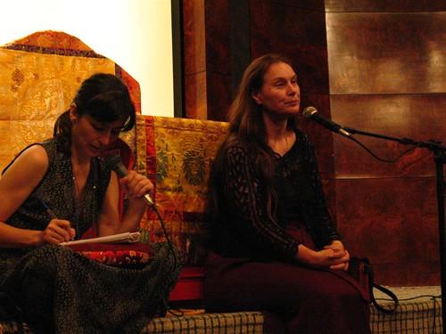 Soninha e Lama Tsering