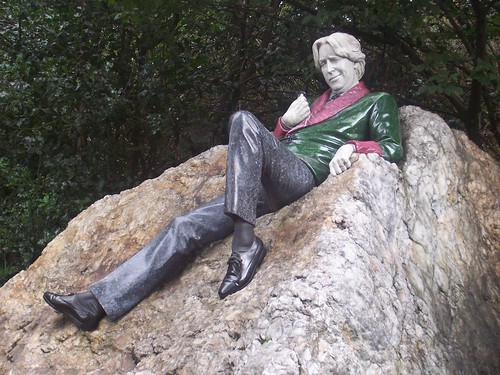 Oscar Wilde, Merrion Square Park